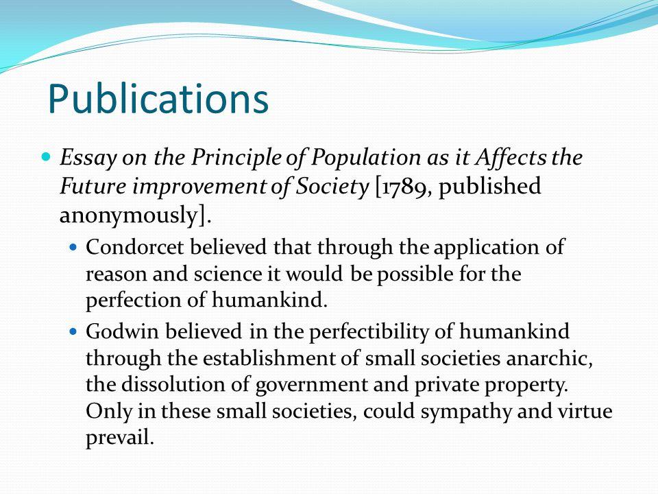 social principles essay